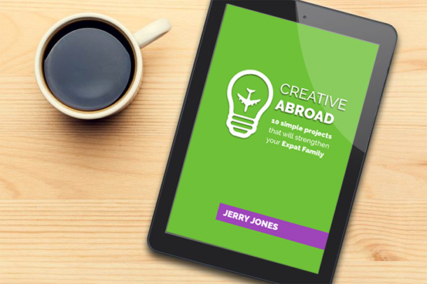 Creative Abroad Ebook Mock